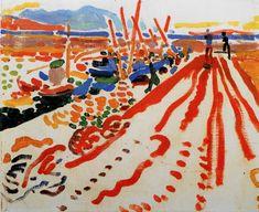 Andre Derain 1906, La jetée à L'Estaque, oil on canvas,