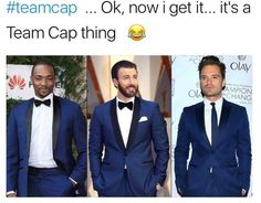 A #teamCap thing