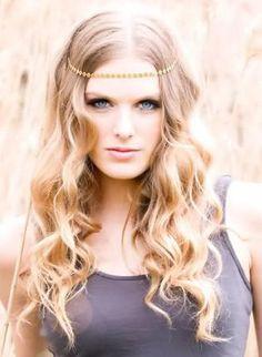 Gold Hair Accesory - Sydney