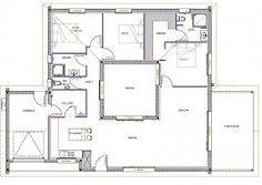 27 Idees De Patio Interieur Plan Maison Patio 15