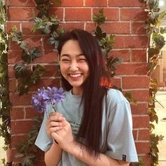 Image may contain: one or more people, plant, flower and outdoor Secret Admirer, Korean Artist, Korean Celebrities, Korean Actresses, Aesthetic Girl, Ulzzang Girl, K Idols, Korean Girl, Korean Idols