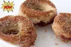 = PROTEIN POW(D)ER !: Cinnamon Sugar Protein Donuts - Sugar-Free, Gluten-Free, and Magical!