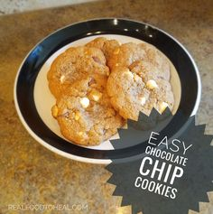 I am so excited to share Jennifer's post today with her newest recipe for gluten-free chocolate chip cookies!