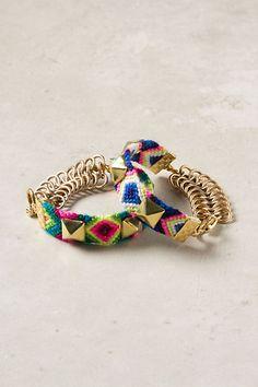 Hardware Hue Bracelet #anthropologie
