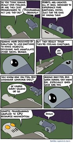 This comic was posted in order to increase my social status, acquire wealth, and thus improve the reproductive fitness of my offspring.