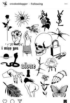 Rose Drawing Tattoo, Tattoo Sketches, Tattoo Drawings, Art Drawings, Type Tattoo, Dark Tattoo, Black Tattoos, Small Tattoos, Hand Tattoos