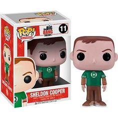 Sheldon green lantern fig 10 cm vinyl pop #TheBigBangTheory #TBBT #FunkoPop #Funko