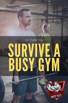 Is a crowded gym ruining your chances of building muscle? If you follow these tips to survive a crowded gym then there is no reason for not getting fit. Group Fitness, Fitness Goals, Fitness Tips, Fitness Motivation, Fitness Icon, Fit Board Workouts, Fun Workouts, Lifting Workouts, Body Workouts