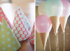 Ice Cream Party....adorable!