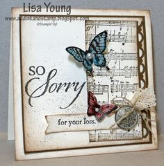 CCMC247 Sympathy Card by genesis - Cards and Paper Crafts at Splitcoaststampers