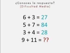 9 Mejores Imagenes De Juegos Mentales Activities Algebra Y Brain