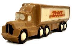 Chocolade vrachtauto natuurlijk verkrijgbaar met eigen logo! www.ichoc.nl