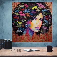 African-American Woman art, Melanin Art, Beauty Woman, African Art,  Black Lives Matter, Home Wall Art, Housewarming Gift, Black Woman Art Woman Art, Canvas Poster, Black Artists, Black Women Art, Custom Canvas, African American Women, Minimalist Art, Home Wall Art, Beautiful Paintings