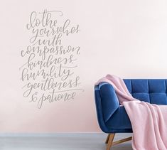 Clothe Yourselves Wall Decal