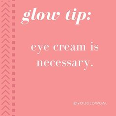 Don't let anyone tell you differently. Serums and moisturizers don't replace a product designed for your eyes! High active ingredient concentrations can irritate & other ingredients can cause puffiness. Invest in an eye cream early can you'll thank yourself later