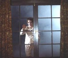 Salem's Lot- watched it as a 6 yr old, the scene that stayed with me forever! Still creepy as crap!!