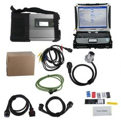 2017.5V MB SD Connect C4/C5 MB Star Diagnosis Plus Panasonic CF19 Laptop With Vediamo and DTS Engineering Software Support Offline Programming