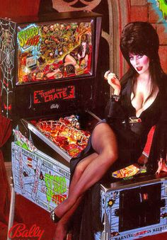Aww this was one the first pinball machines I remember and played  and I already thought she was the coolest prettiest person in the world back then