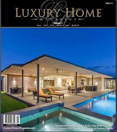 This months Luxury Home Magazine cover.  See more of this lovely award winning home here.   http://www.resort-virtual-tour.com/72-3170-alapii-kula-drive-kukio-hi-96740/  Presented by Carrie Nicholson, Realtor, BIC