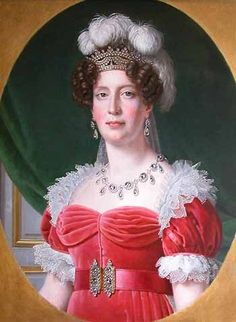 Marie Therese of France (1778-1851) Daughter of Louis XVI of France and Marie Antoinette. Wife of Louis XIX of France