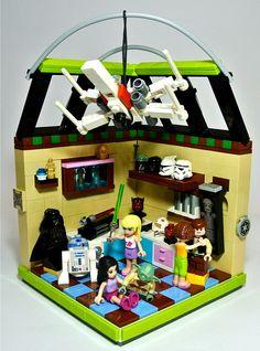 Lego Friends + Star Wars