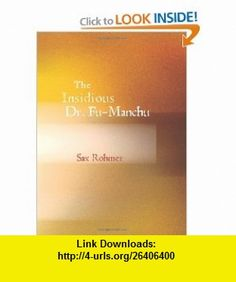14 best ebook torrents images on pinterest pdf tutorials and the insidious dr fu manchu 9781426465338 sax rohmer isbn 10 fandeluxe Images