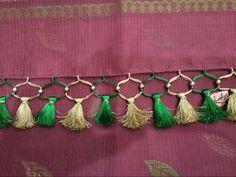 Saree Kuchu Designs, Saree Tassels, Tassel Necklace, Sari, Blouses, Style, Fashion, Saree, Swag