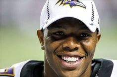 A happy Ray Rice after becoming the AFC Division Champs. Super Bowl is NEXT!