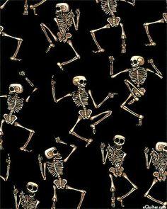 Esqueleto bailarines