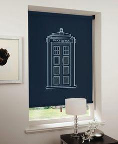 TARDIS blinds
