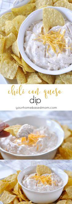 Chili Con Queso Dip