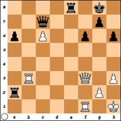White to move and win. Wang vs Urfan Sevdimaliev, Nakhichevan, 2003 www.chess-and-strategy.com #echecs #chess