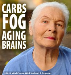 Carbs and Brain Fog -- Mayo Clinic.  Yep.  Not just aging brains, either, in my experience.