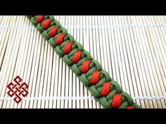How to Make the Solomon's Slanted Path Paracord Bracelet Tutorial - YouTube