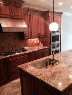 Kitchen cabinet kemper cabinets cherry whiskey black cabinets