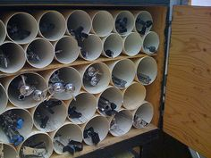 PVC pipe for wine storage??