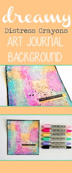 Trendy Mixed Media Art Ideas Texture Journal Pages Spring Art Projects, Art Projects For Adults, Easy Art Projects, Art Journal Backgrounds, Art Journal Pages, Art Journaling, Mixed Media Tutorials, Art Tutorials, Canvas Art Quotes