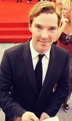 He has the cutest little smile! Kinda looks a bit elvish...