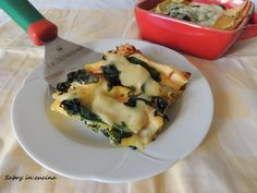 lasagna spinaci e salmone Spaghetti, Food Porn, Pizza, Ethnic Recipes, Blog, Elegant, Lasagna, Blogging, Noodle