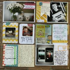 the october afternoon journaling cards are a perfect fit alongside a photo in the 4x6 slots. they're a smidge too tall for the journaling card slots, but i plan on trimming them down to use there. i seem to struggle with having enough 4x6 photos for my week, so i love having extra ways easily fill those slots