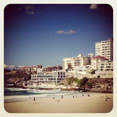Bondi South Corner #beach #atbondi #bondi #sunny #sydney #sunshine #icebergs #australia