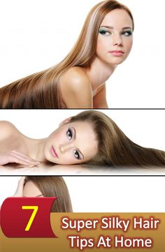 Hair care Tips : There are some silky hair tips that a person can follow to get a beautiful smoot
