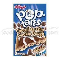 Kellogs Pop Tarts - Chocolate Chip Cookie Dough (400g) - http://handygrocery.org/grocery-gourmet-food/kellogs-pop-tarts-chocolate-chip-cookie-dough-400g-de/