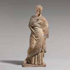 statuette of a woman,hellenistic period,early 3rd century BC,Greek,Boeotian