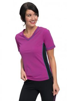 ff981ae965 Adventure Chic V Neck Short Sleeve Swim Shirt - Chlorine Proof