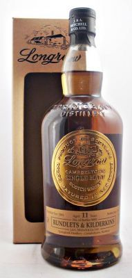 De tweede bottleling Rundlets & Kilderkins van Springbank Distillers Ltd. is een 11 jaar oude Longrow. Deze zwaarder geturfde en tweemaal gedistilleerde versie van Springbank is gedistilleerd in november 2001 en gebotteld in januari 2013. Er zijn slechts 9000 flessen beschikbaar. Rundlets en kilderkins zijn vaten van respectievelijk 60 en 80 liter, die in de 17de en 18de eeuw gebruikt werden voor het smokkelen van whisky. € 73,95
