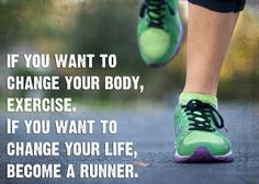Seriously can't even stress how true this is. Running every day teaches you exactly what your body needs to perform. When I slip up in my diet or even my sleep, I can tell during my run. #changeyourlife #RUN