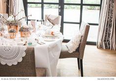 Hochzeitsdekoration im Torhaus des Hof zur Linde
