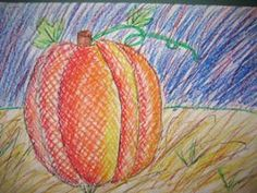 Tales from the Traveling Art Teacher!: Fall-Inspired Creations