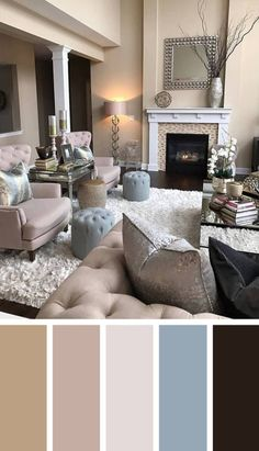 344 Best Modern Living Room Colors images in 2019   Room colors ...